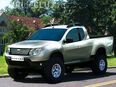 Dacia Duster Pick Up va intra in productie la Mioveni! VEZI FOTO