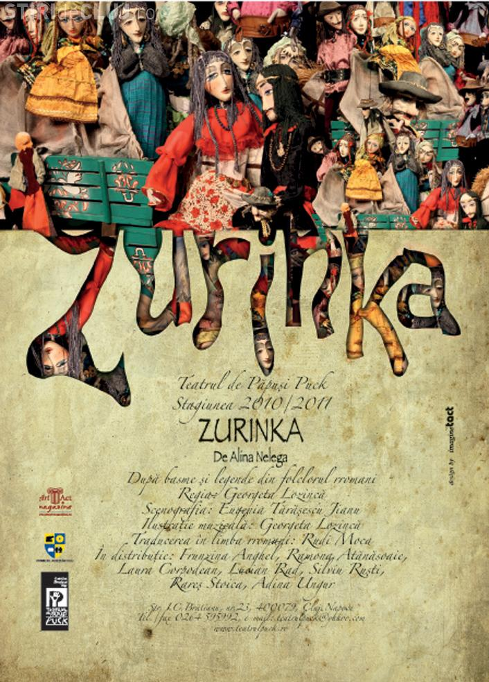 Premiera la Teatrul Puck cu piesa Zurinka, o adaptare dupa basme si legende romani