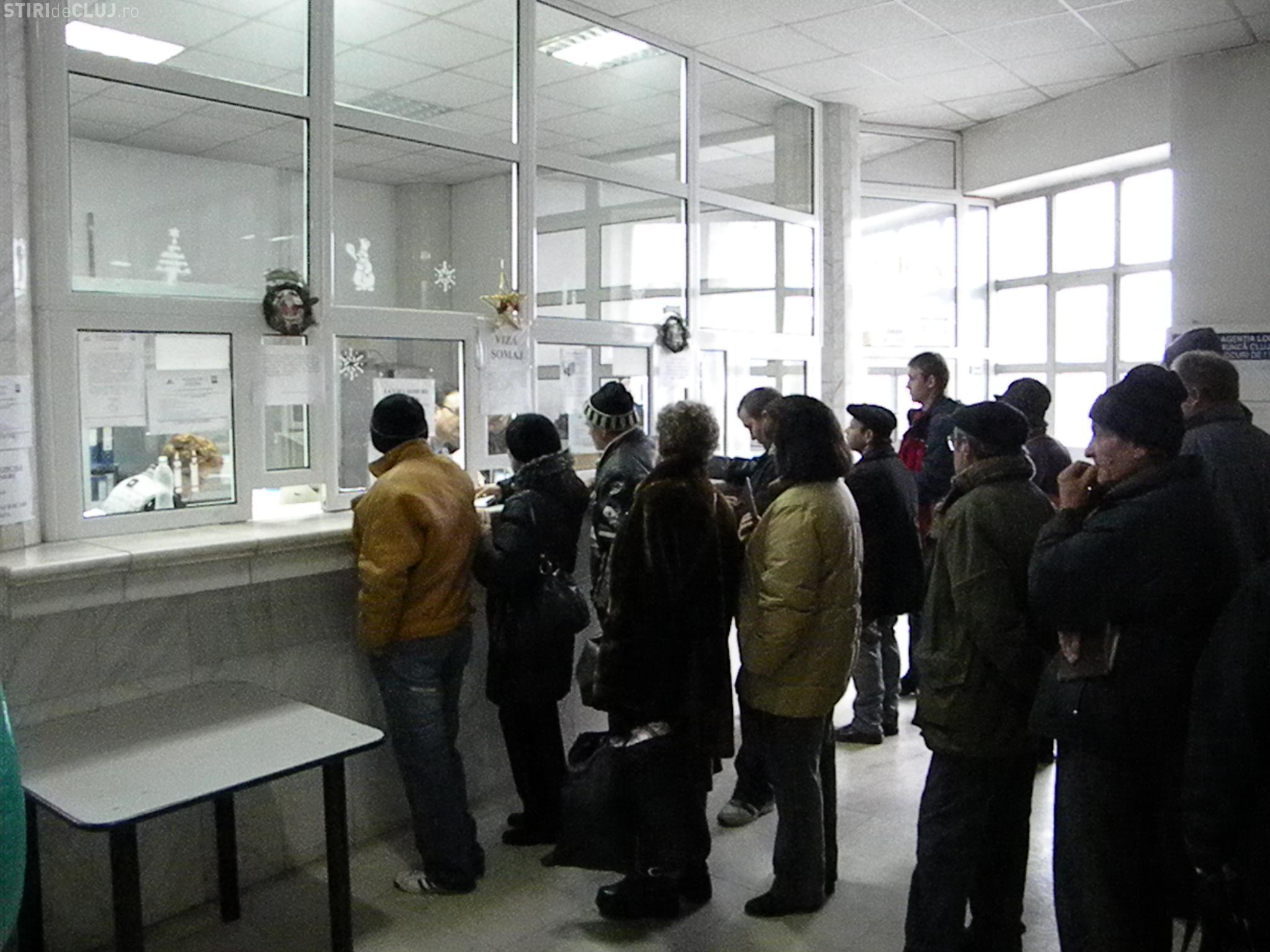 Rata somajului in Cluj este de 4,4%. 15.000 de clujeni nu au loc de munca