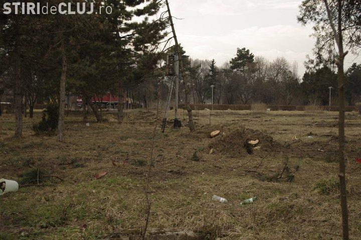Fanii echipei CFR Cluj ii cer primarului Sorin Apostu sa sustina lucrarile de reamenajare a Parcului Feroviarilor