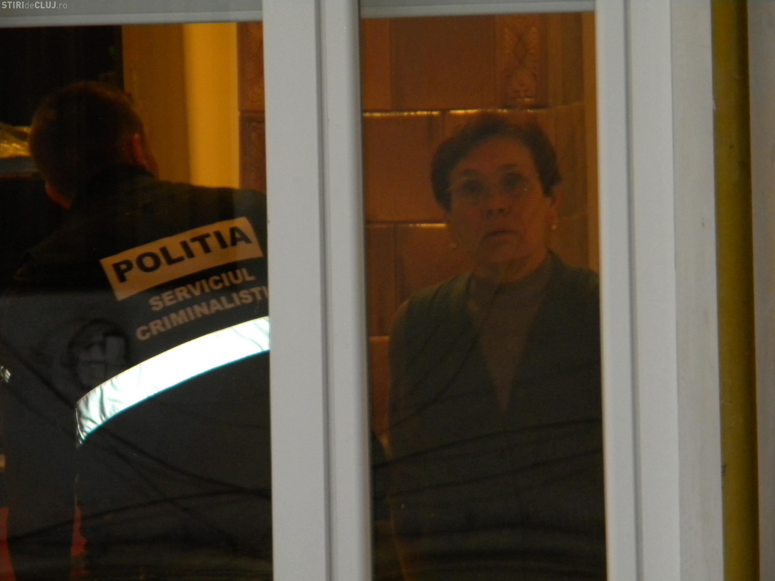 Sediul PDL Cluj, jefuit de hoti - EXCLUSIV VIDEO