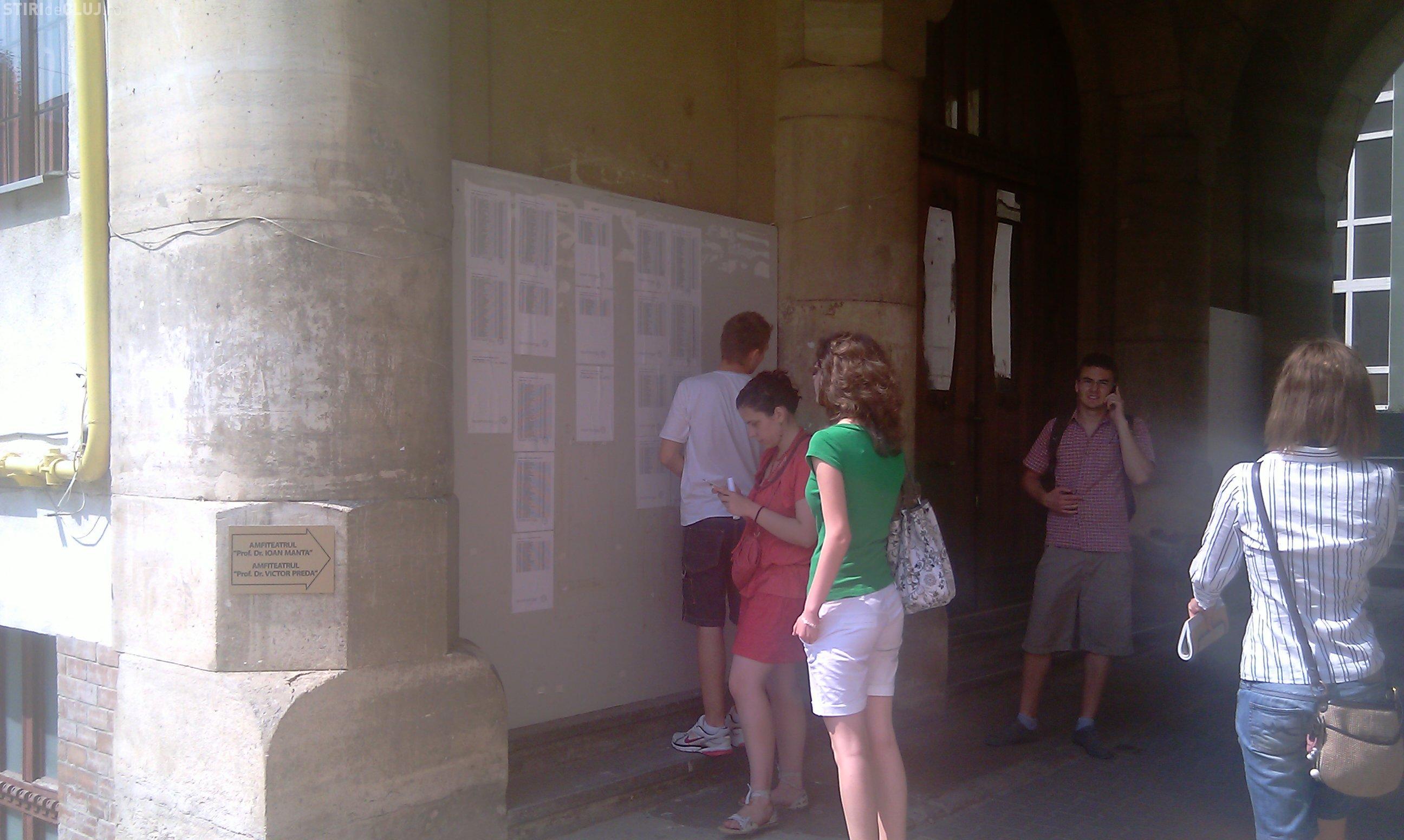 ADMITERE UMF CLUJ 2011: Vezi cu ce note s-a intrat si ce concurenta a fost