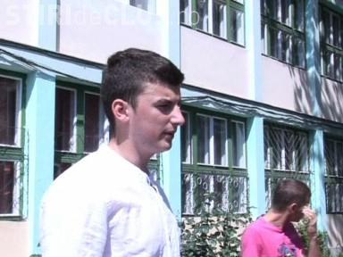 Vezi reactia elevului de la Anghel Saligny, care a picat BAC -ul dupa recorectare VIDEO - EXCLUSIV