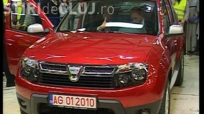 Basescu si-a luat SUV Duster- VIDEO