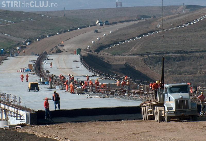 Lucrarile la Autostrada Transilvania in judetul Cluj reincep! Vezi ce a spus Emil Boc VIDEO