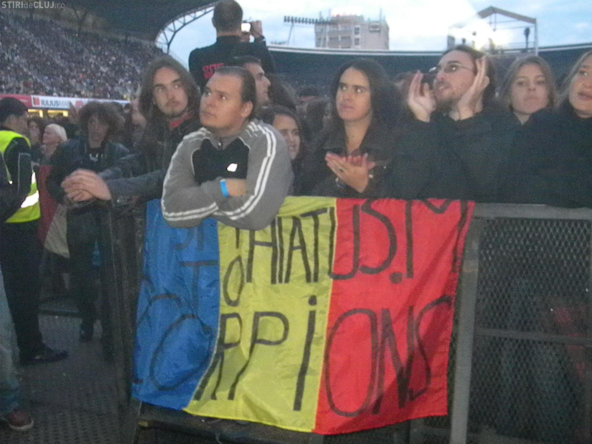 Cluj Arena e plina ochi! Inainte de Scorpions au cantat Semnal M, Sensor si Pacifica VIDEO SPECTACULOS