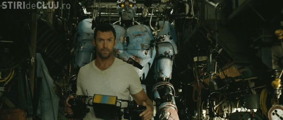 "Real Steel sau ""Pumni de otel"", filmul in care Hugh Jackman revine in actiune PROGRAM CINEMA CLUJ"