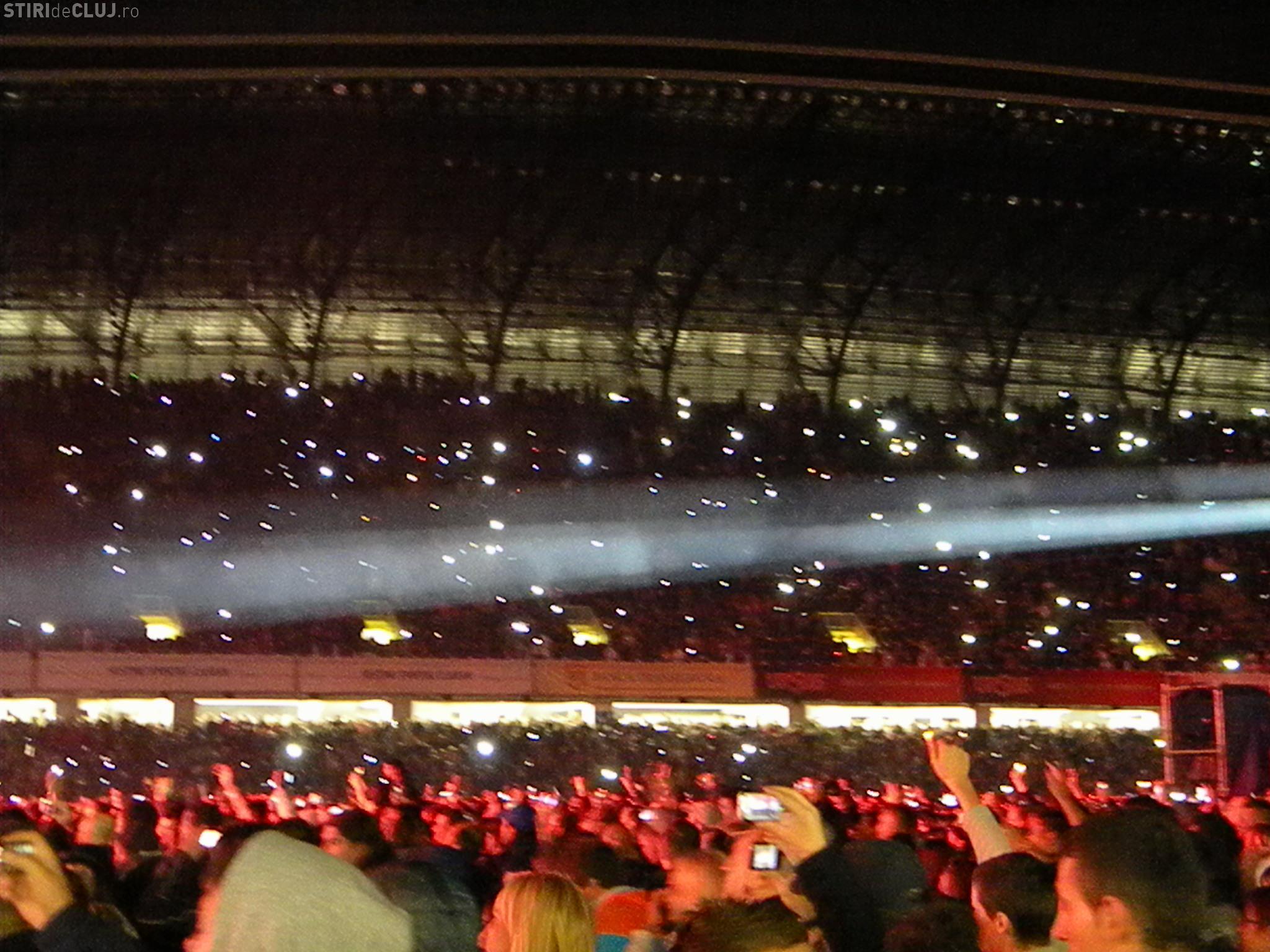 Scorpions cu tricolorul pe scena! VEZI fotografii memorabile