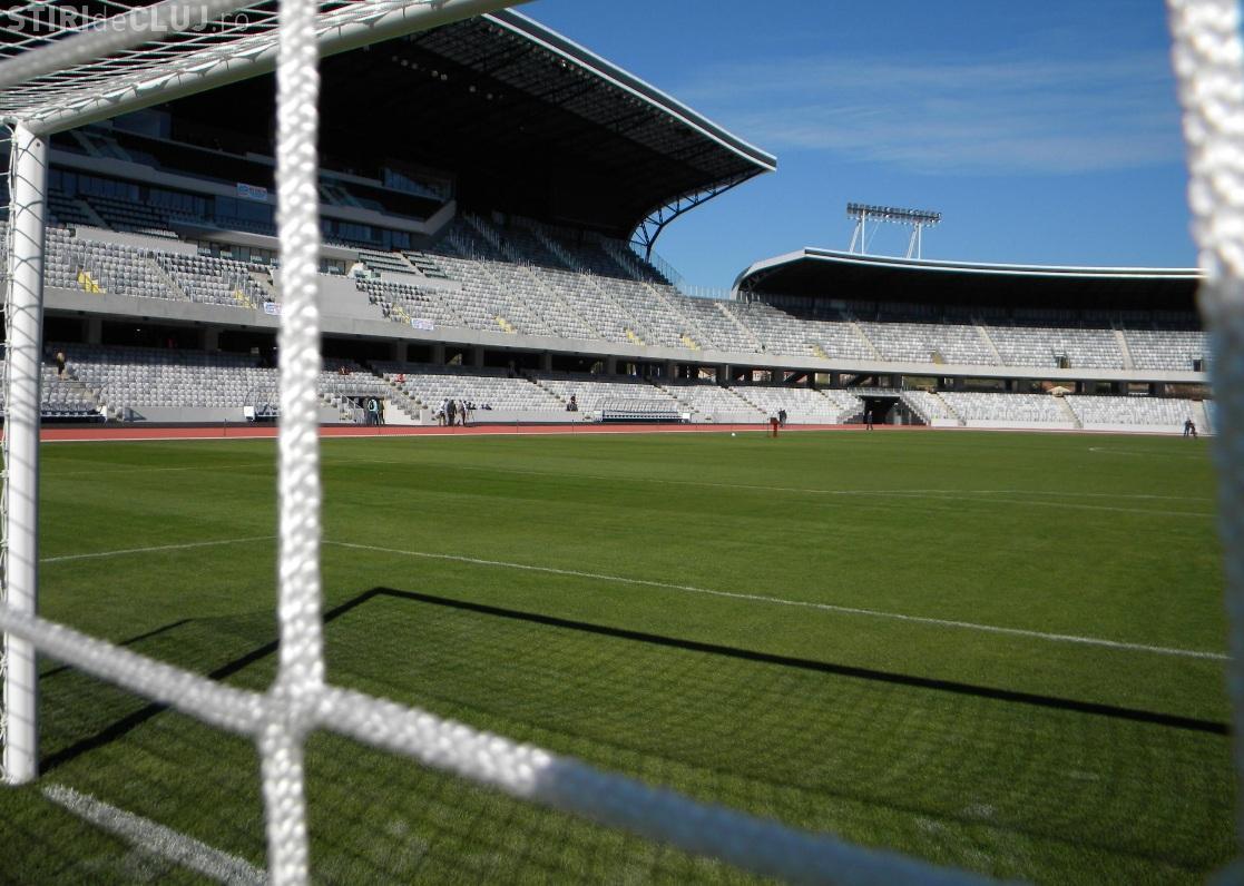 """Cluj Arena poate fi inchiriat de oricine pentru o """"miuta"""". Vezi cat costa sa joci o ora"""