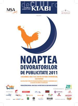 """A opta editie a evenimentului """"Noaptea Devoratorilor de Publicitate"""" la Cluj"""