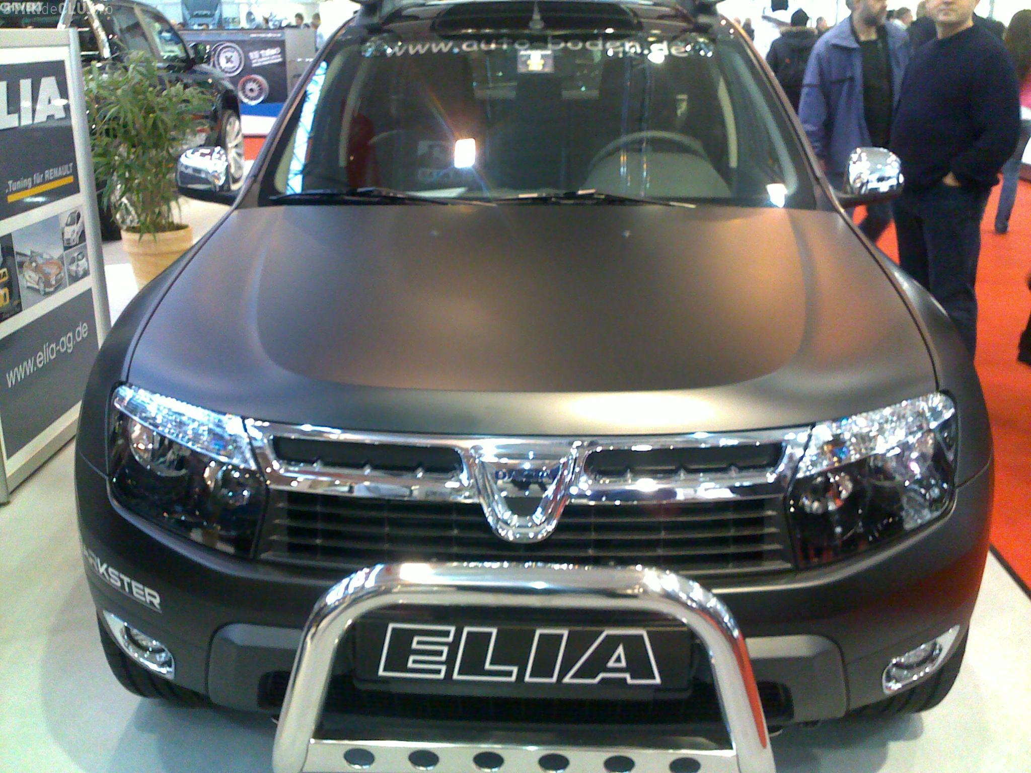 Dacia Duster face senzatie la show-ul auto de la Essen. Vezi cum arata un Duster tunat FOTO