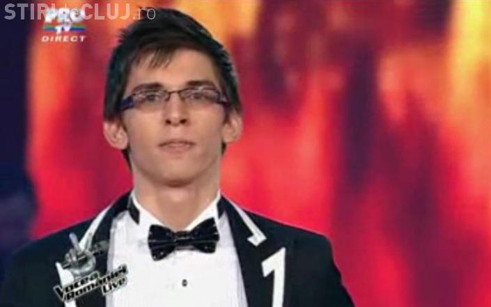 Cristian Sanda VOCEA ROMANIEI semifinale! El ar putea castiga concursul VIDEO
