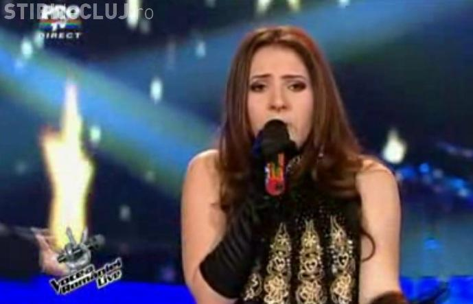 "Iulia Puschila - VOCEA ROMANIEI, semifinale! Vezi cum a cantat ""Haide, spune-mi"" VIDEO"