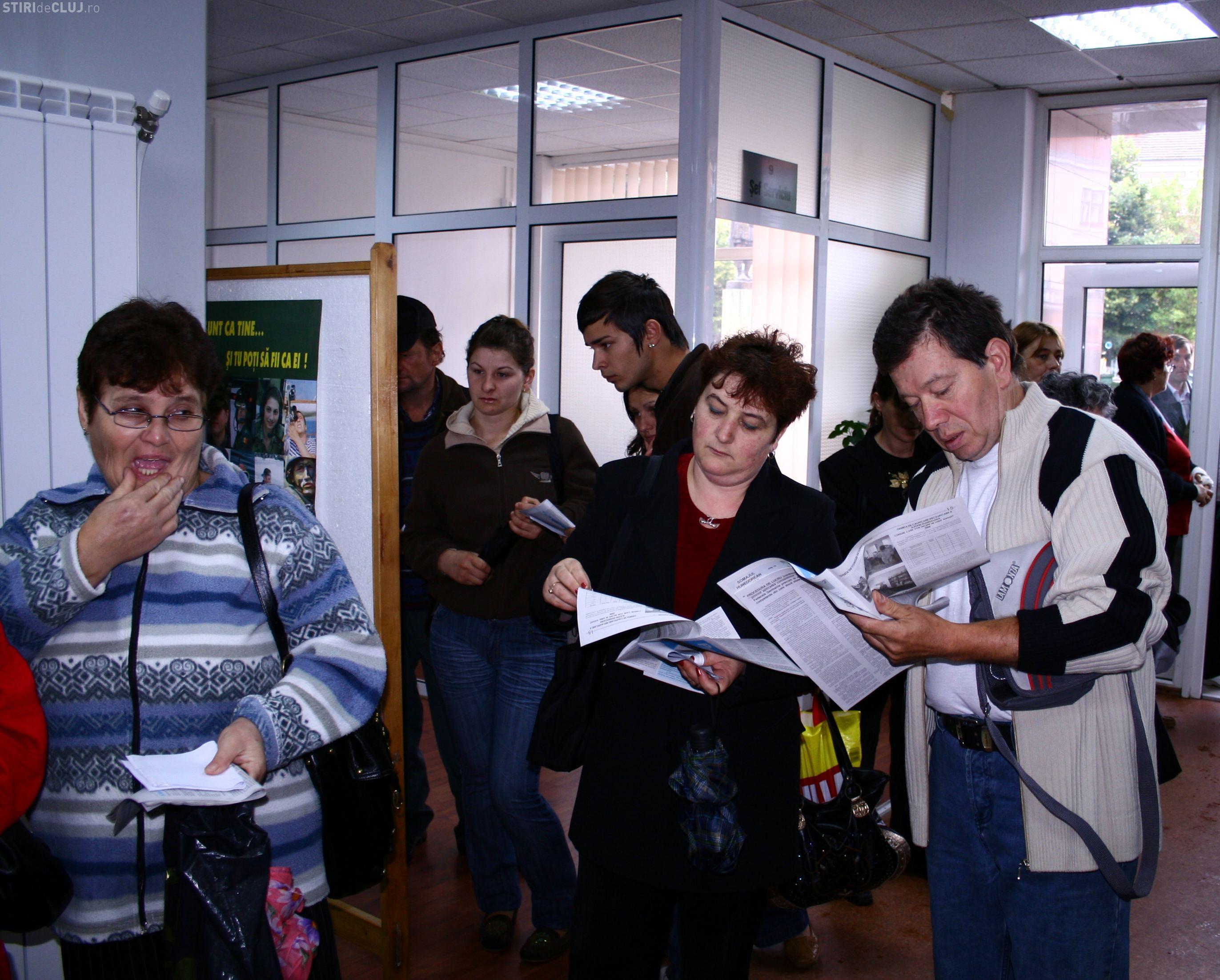 Somajul in Cluj a scazut in luna aprilie cu 0,3%