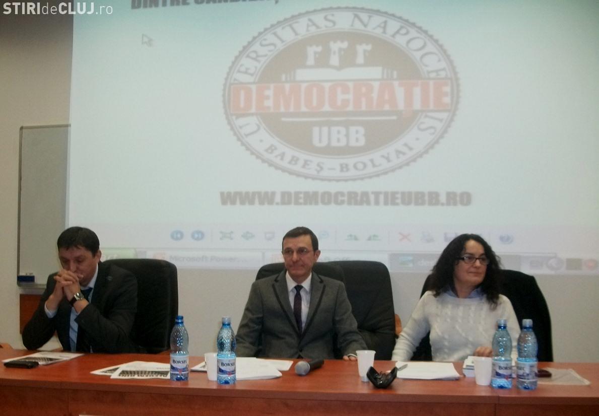 Candidatii pentru functia de rector discuta marti cu studentii