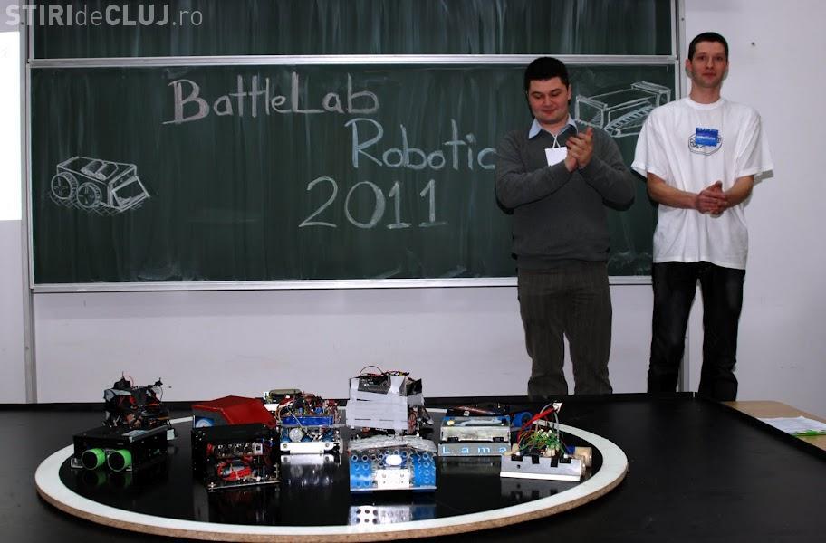 Robotii se infrunta la UTCN, in 17 martie VIDEO