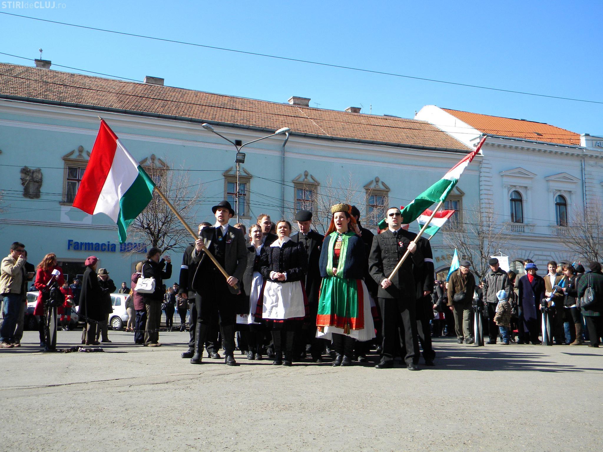 15 Martie Image: Ziua Maghiarilor La Cluj, 15 Martie: Sute De Oameni Au