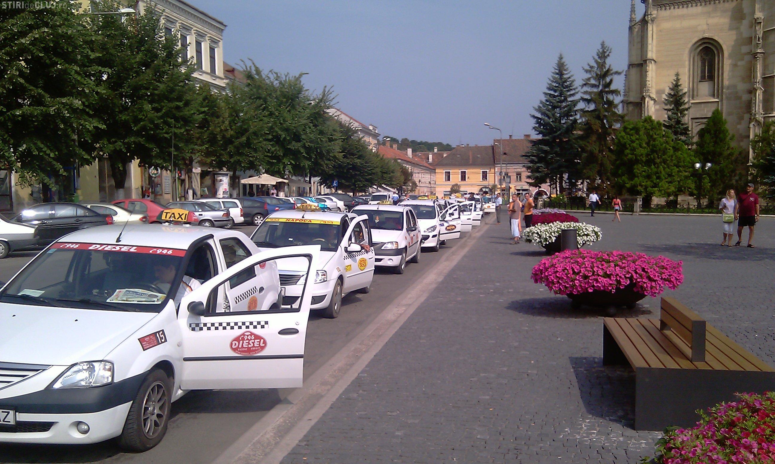 Patru taximetristi din Cluj au ramas fara permis, iar alti 59 au fost amendati