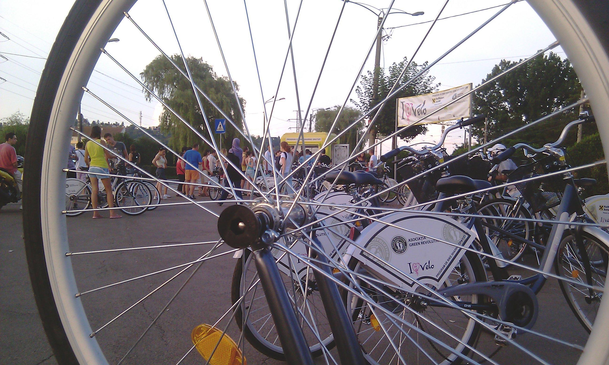 Liberalii cer un centru de bike sharing in Piata Unirii sau Bulevardul Eroilor
