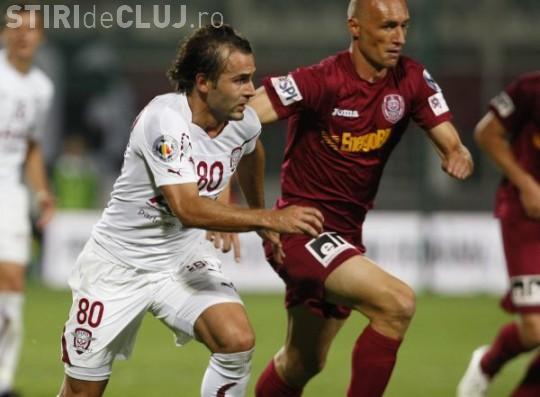 CFR Cluj - Rapid LIVE TEXT, 0-5! GOL Ciprian Deac VIDEO