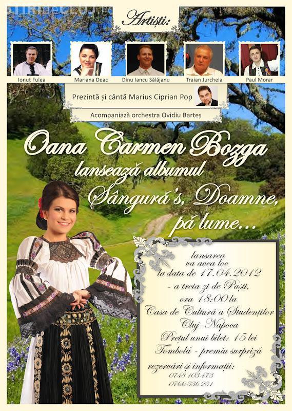 Spectacol folcloric la Cluj, in a treia zi de Pasti! In 17 aprilie va fi lansat si un album de folclor