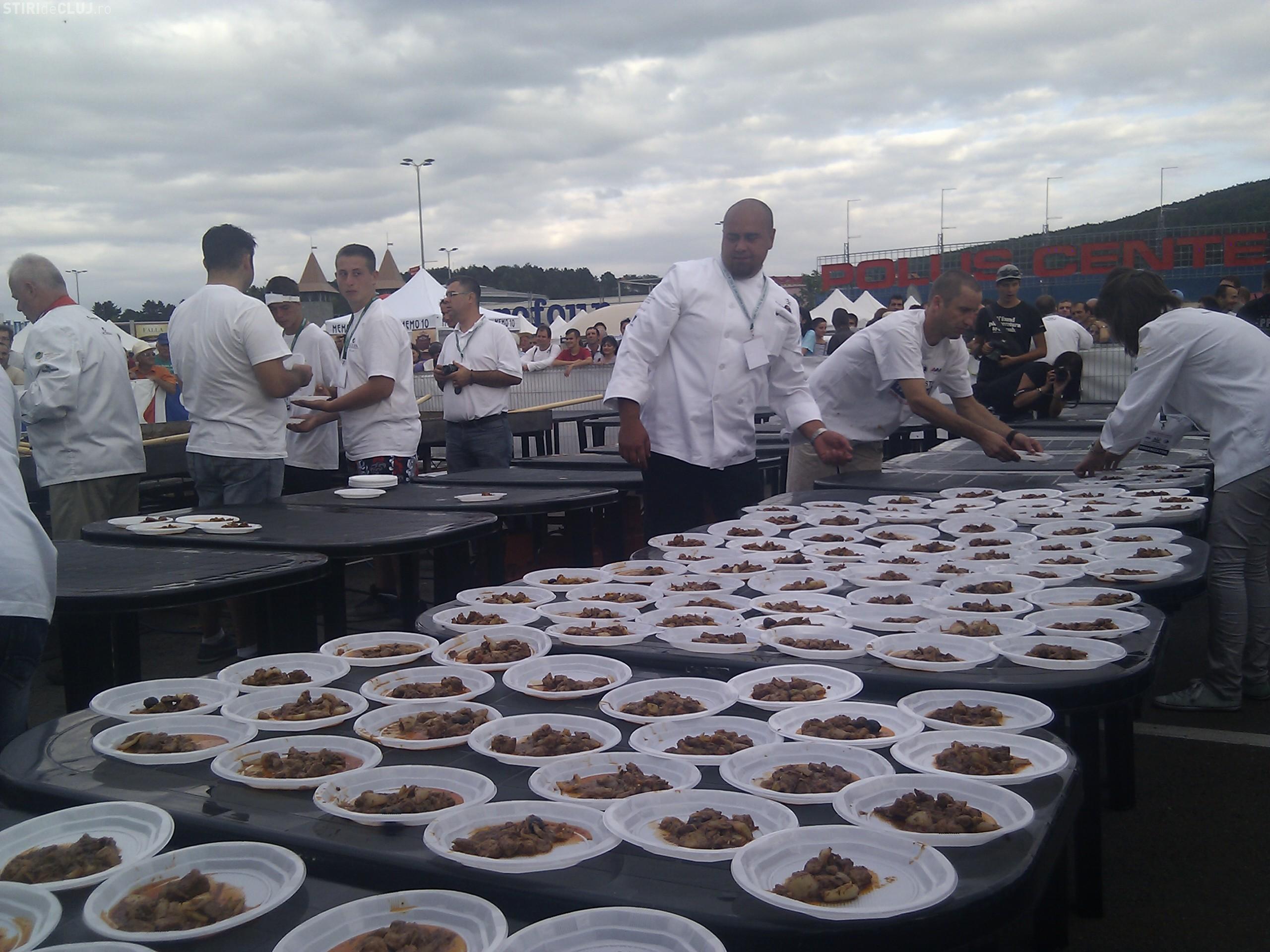 Festivalul Culinar International in aer liber, pe strada Potaissa din Cluj-Napoca