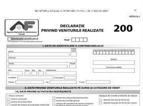 Declaratia de venit! Amenda de pana la 500 de lei pentru cei care nu isi declara veniturile pe 2011, pana in 25 mai