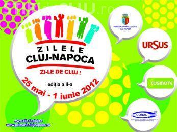 Zilele Clujului 2012 - PROGRAM! Peste 80 de evenimente in 25 de locatii