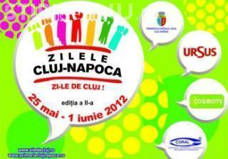 ZILLELE CLUJULUI: Directia 5, Stefan Banica Jr. si Antonia canta in Piata Unirii