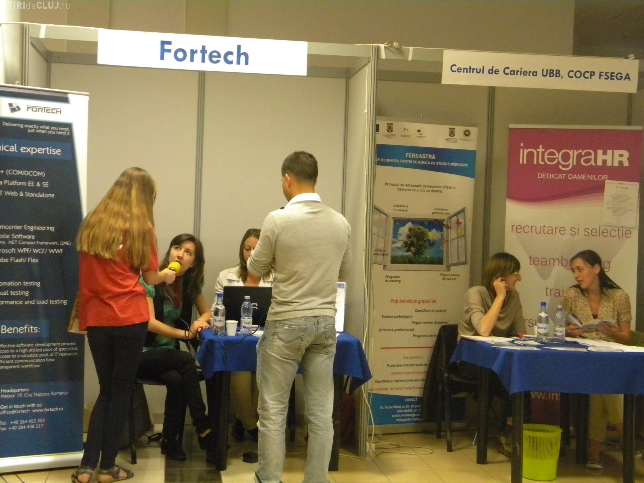 Studentii, asteptati la Targul de joburi de la FSEGA: peste 376 de locuri de munca sunt vacante