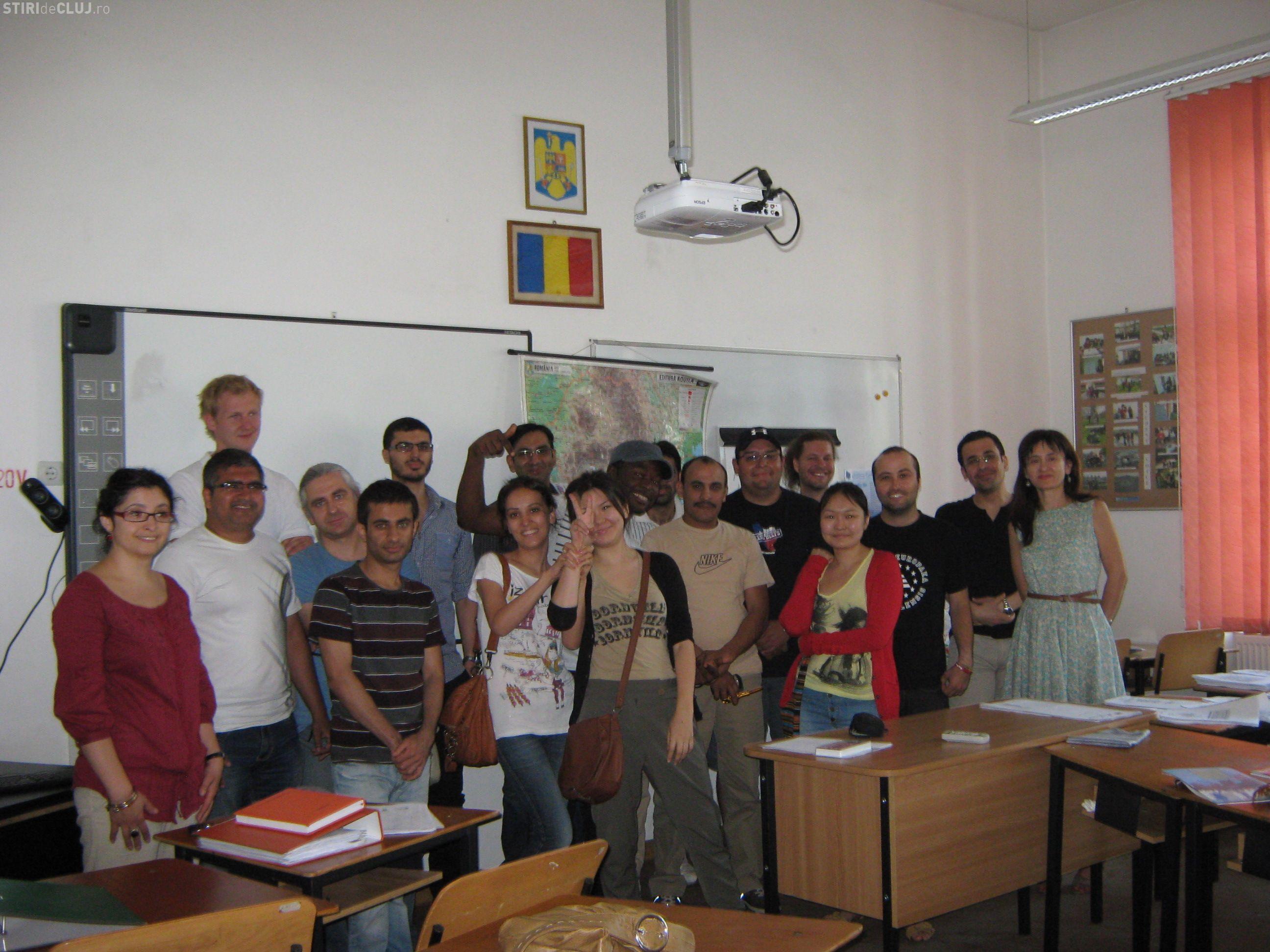 Cursuri de limba romana pentru imigrantii din tari non-UE la Cluj