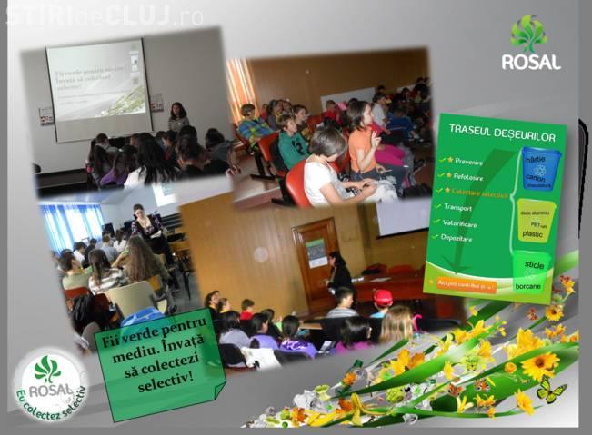 ROSAL a derulat în anul școlar 2011 - 2012 o campanie de informare privind importanţa colectării selective