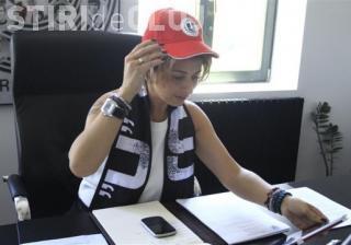 Anamaria Prodan nu mai merge la Consiliul Local pentru a susține cauza U Cluj! VEZI de ce