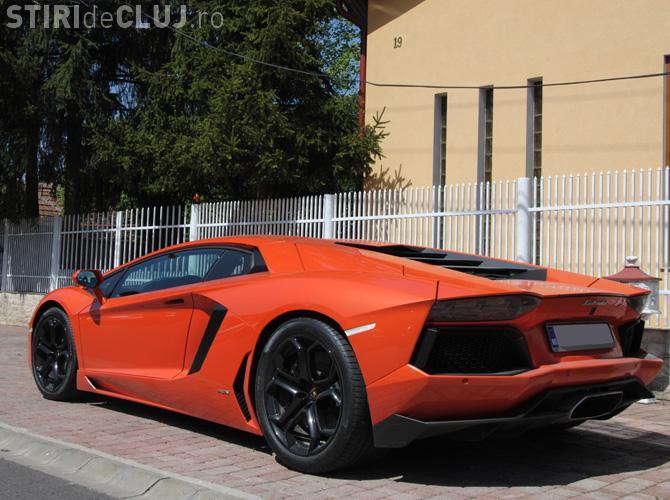 Vezi cum arată al doilea bolid Lamborghini Aventador din România FOTO