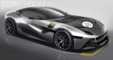 Barbatul care detine un model UNIC de Ferrari, construit cu dedicaţie