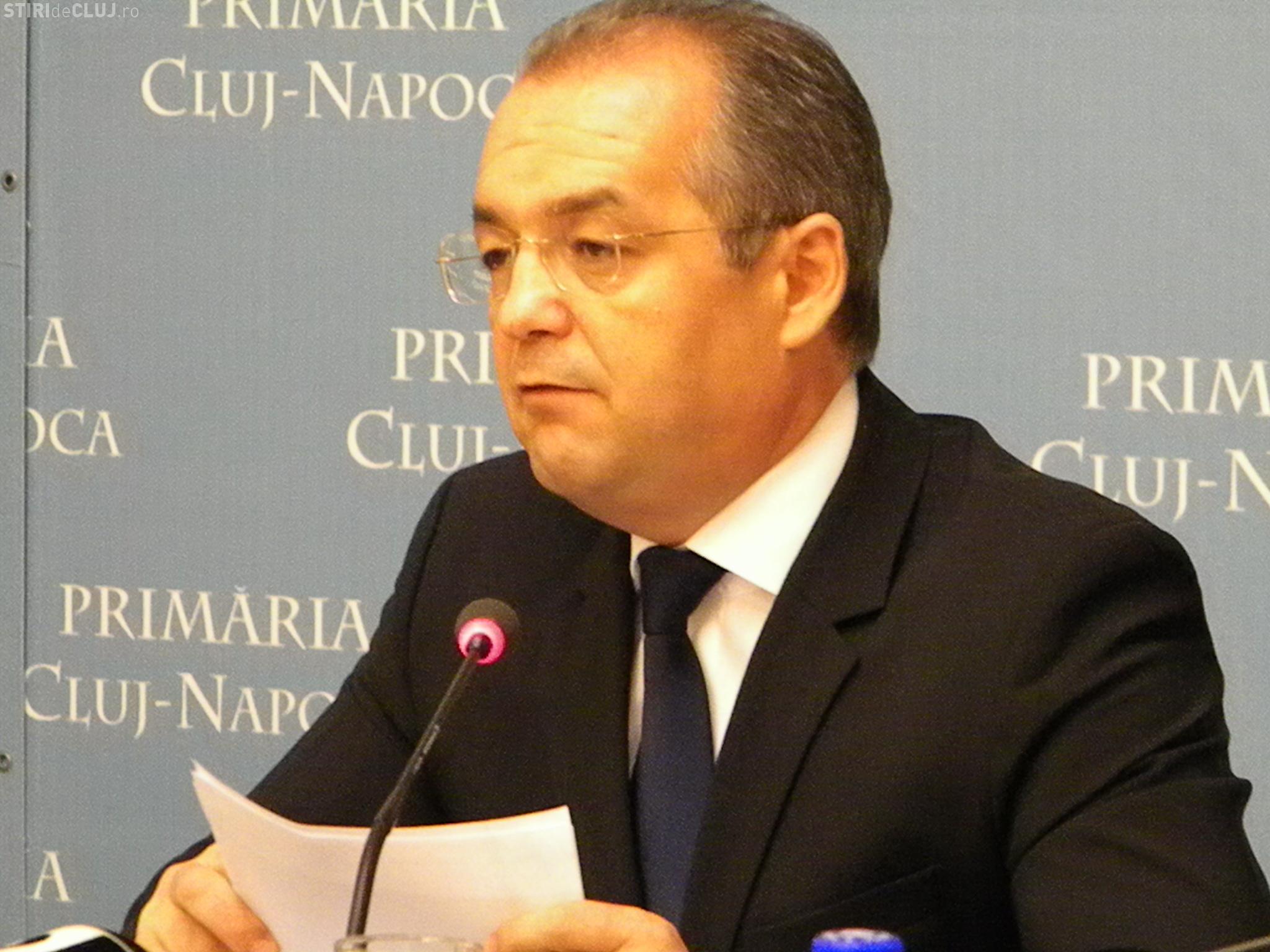 """Primarul Emil Boc promovează în Anglia proiectul """"Cluj-Napoca Capitală Culturală Europeană 2020"""""""