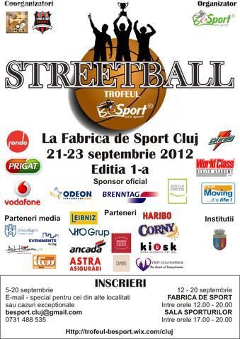 """""""Trofeul BeSport"""" - Streetball 21 - 23 septembrie"""