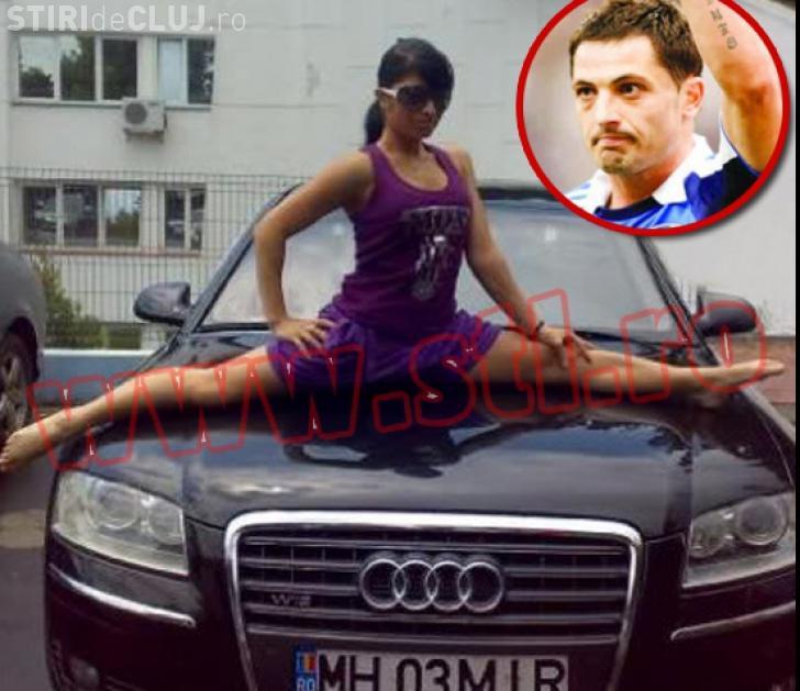 Gimnasta porno face acrobaţii pe limuzina lui Mirel Rădoi
