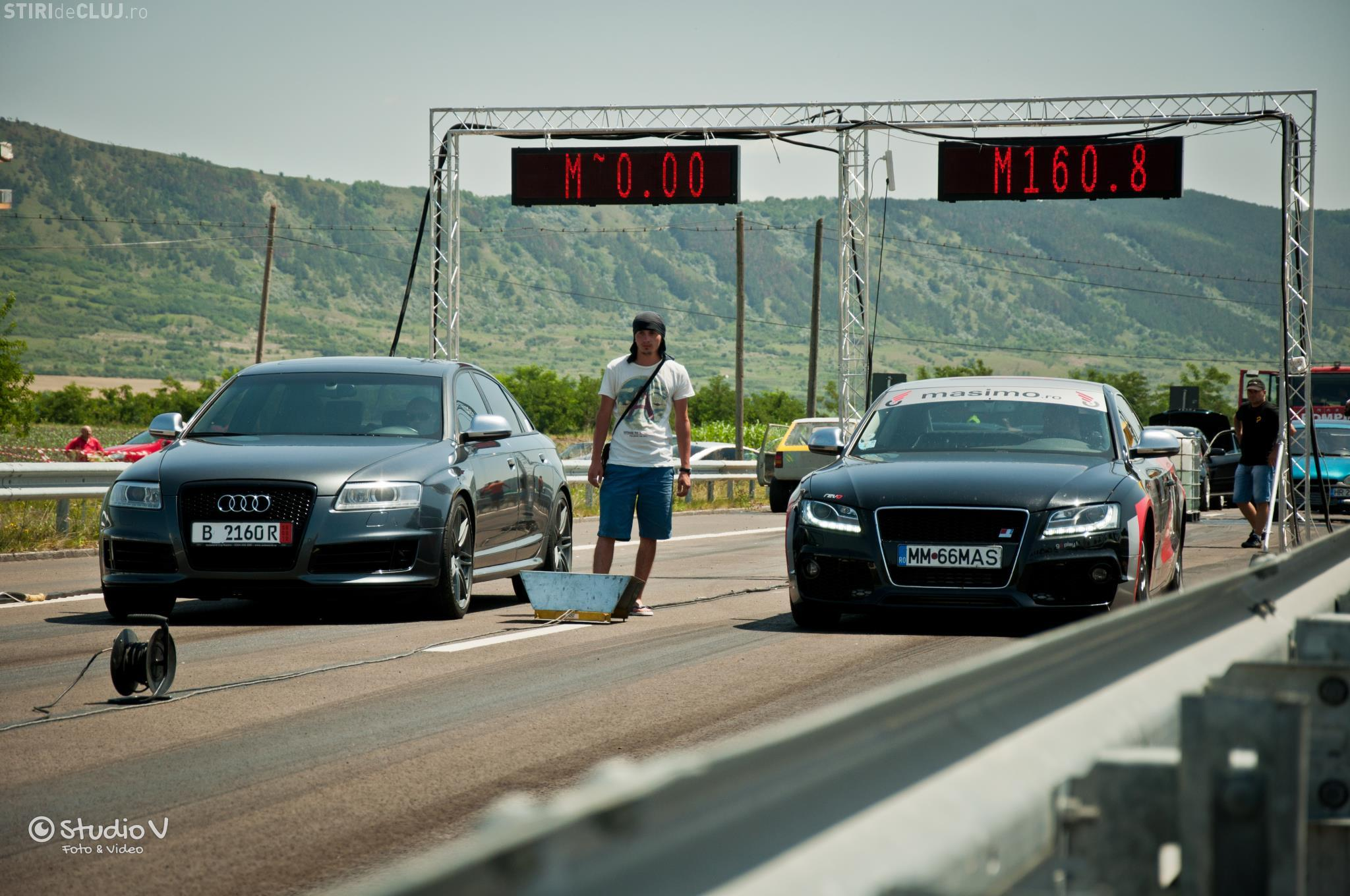 Transilvania Drag Race - curse auto legale la fosta fabrică Nokia, în acest weekend