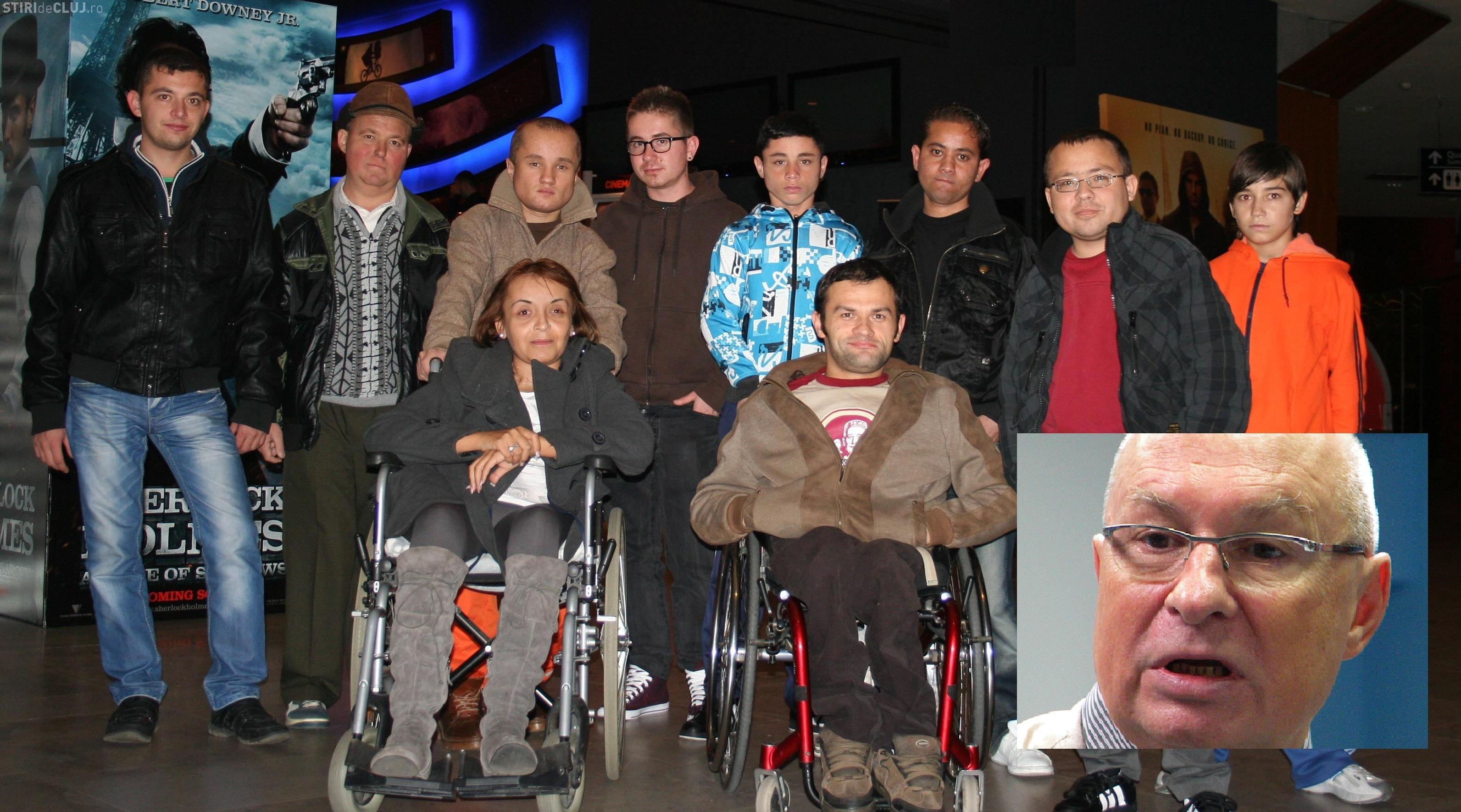 Mihai Lucan, acuzat că a UMILIT Asociația Claudia Safta din Cluj, care se ocupă de copiii cu insuficiență renală