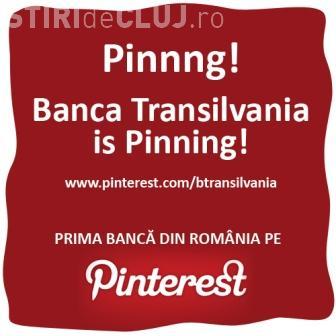 BT, prima bancă din România cu profil în reţeaua de socializare Pinterest