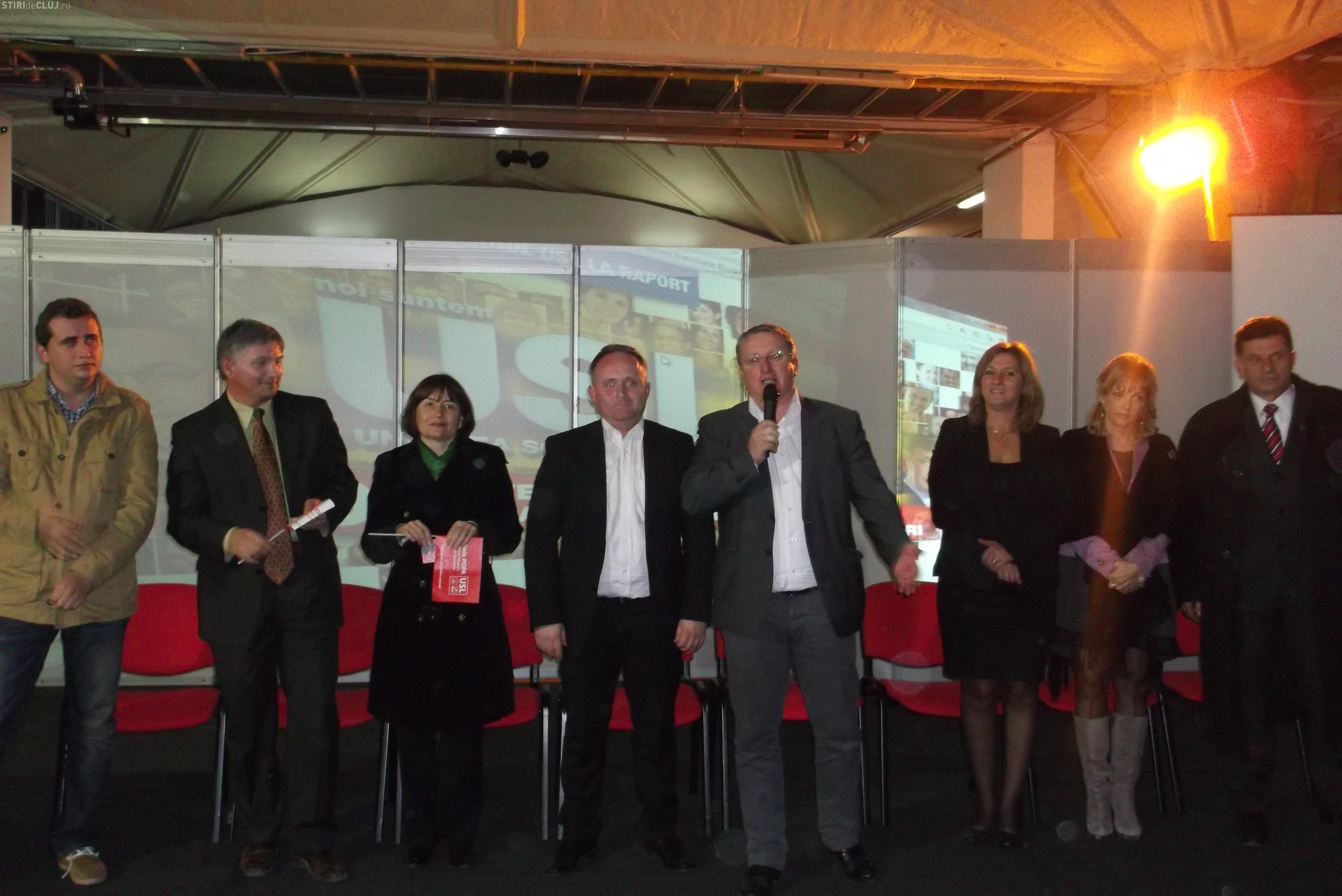 Irimie Popa (USL) şi-a lansat candidatura pentru Camera Deputaţilor