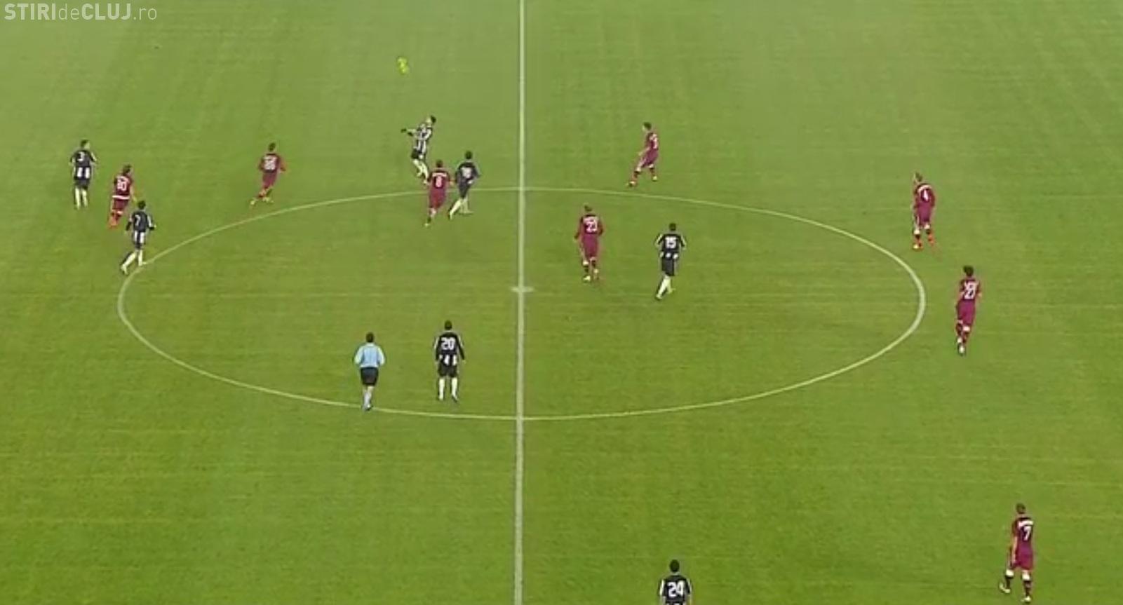 U Cluj - Rapid 1-2 - LIVE TEXT Gol Herea, Teixeira și Drăghici VIDEO