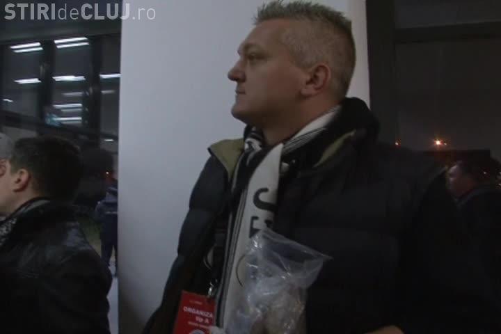 """Asociația """"Şepcile Roşii 1919"""" le mulțumește suporterilor U Cluj pentru că au adunat bani pentru echipă"""