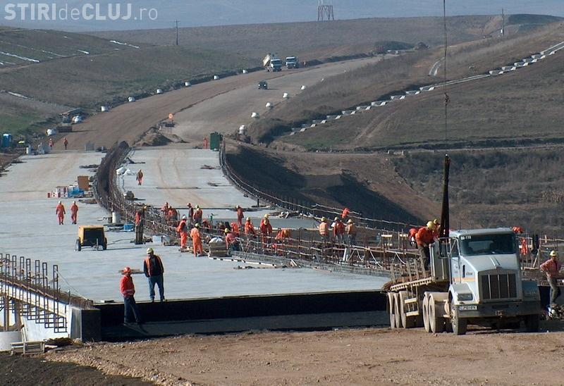 Lucrările la Autostrada Transilvania, blocate de contestarea licitației