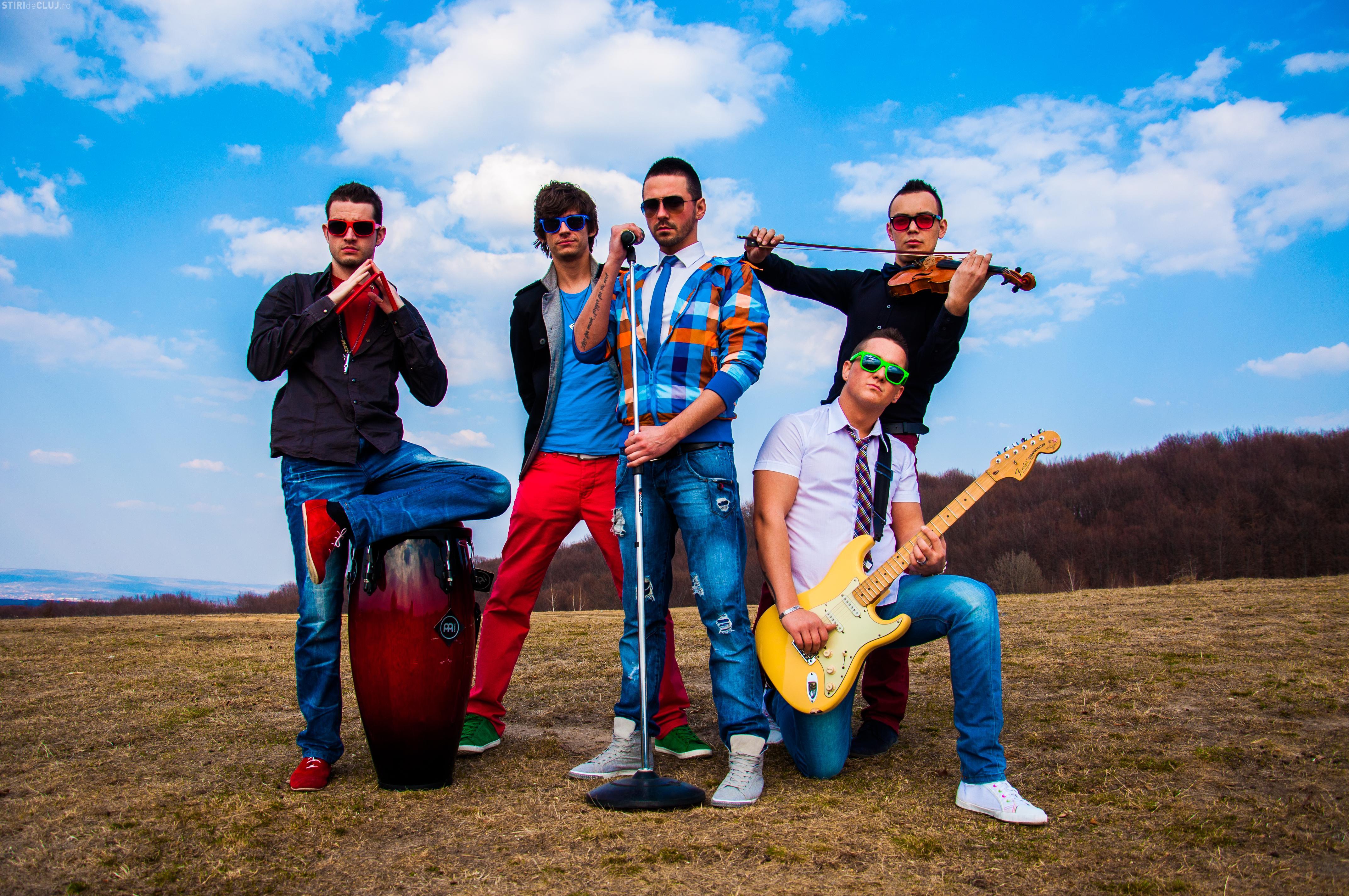 Clujenii de la trupa Incognito își lansează prima melodie în deschiderea concertului Voltaj de vineri seara. Asculta aici melodia