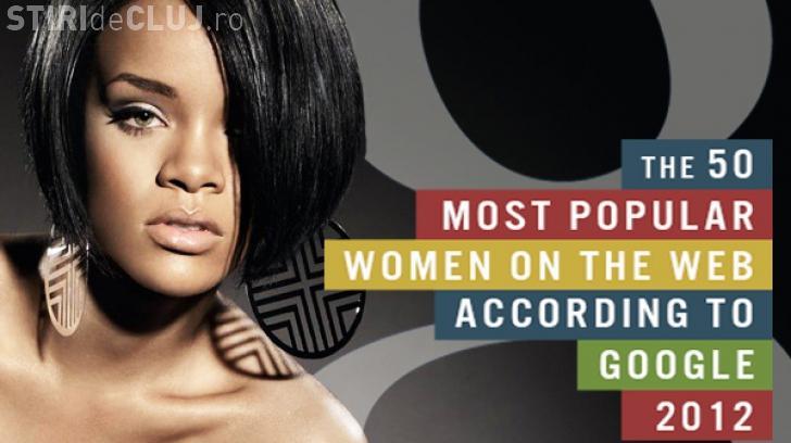 """Top 50 cel mai cautate femei pe internet. Vezi cine este """"Regina internetului"""" în 2012"""