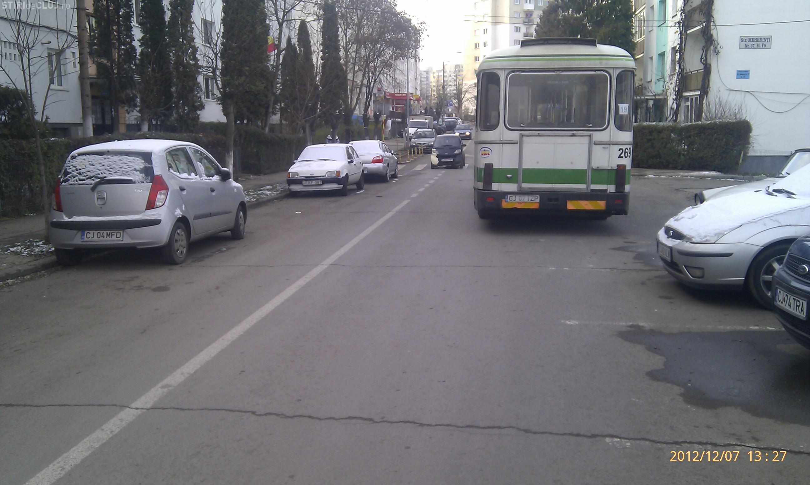Stațiile de autobuz de pe strada Mehedinți, un pericol ...