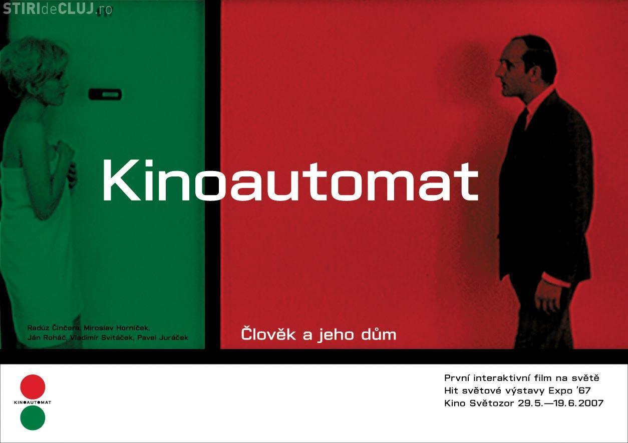 Primul film interactiv din lume, interzis de comuniști, ajunge la Cluj VIDEO