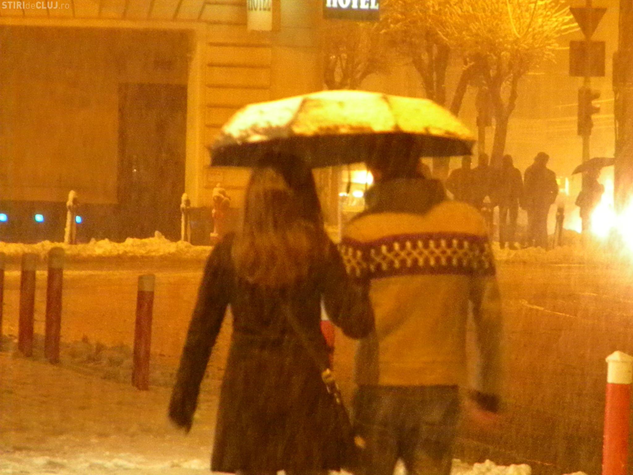 Vești PROASTE în privința VREMII de la Cluj. Cât va ninge și de când încep ploile